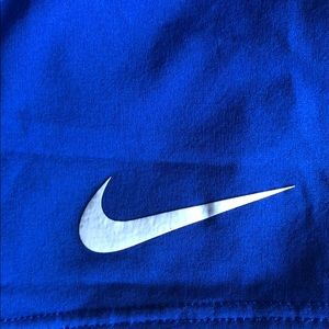💙 NIKE DRI-FIT shorts with briefs -size M
